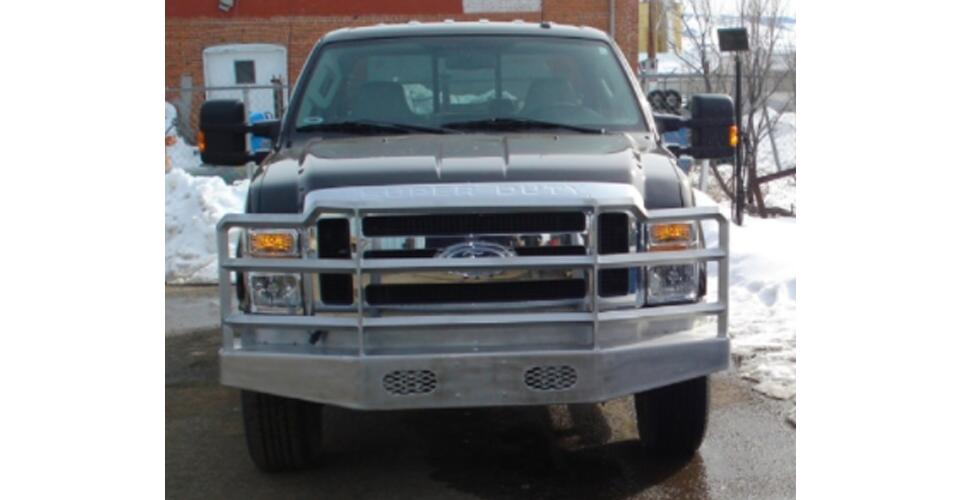 custom aluminum bumper