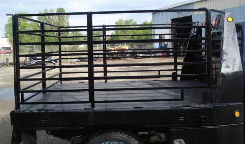 Flatbed custom rack