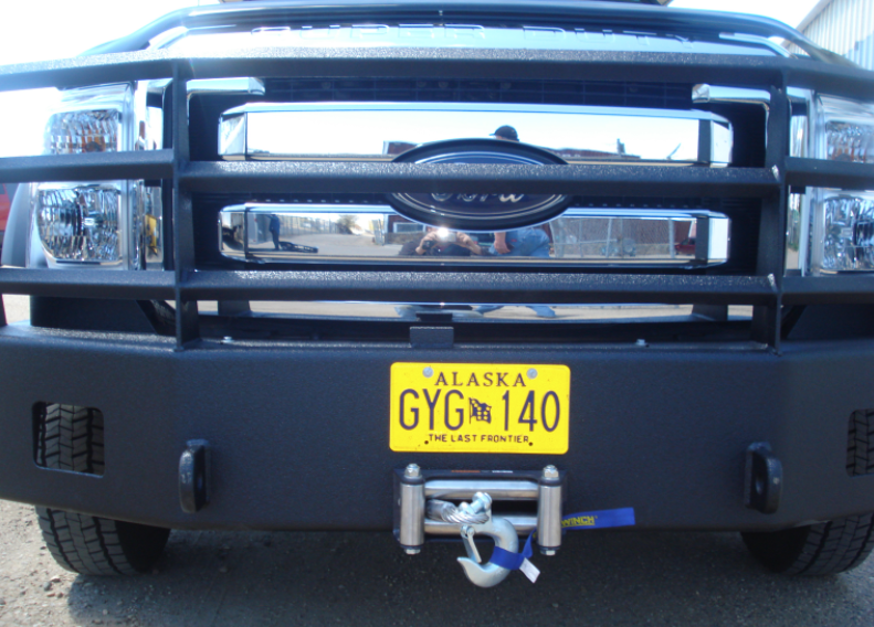 Ford Blk bumper