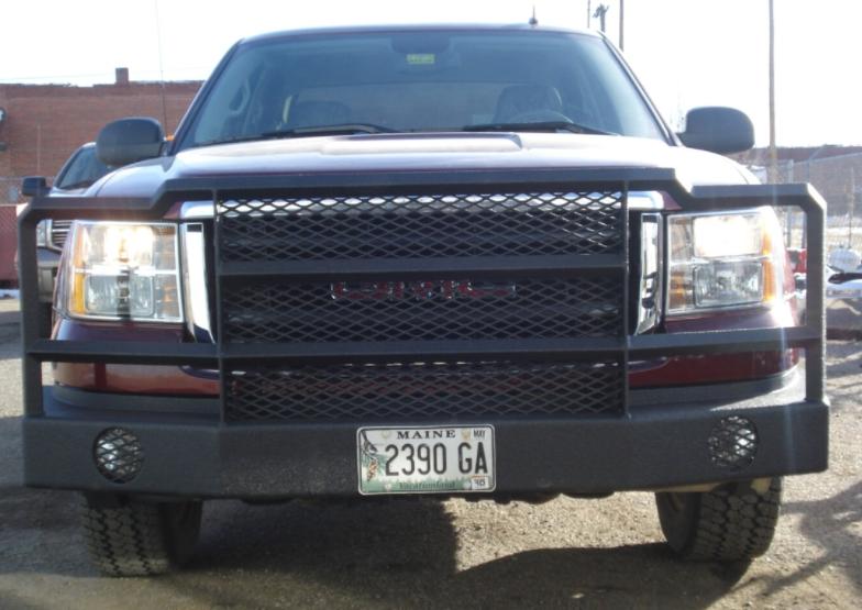 Custom GMC bumper