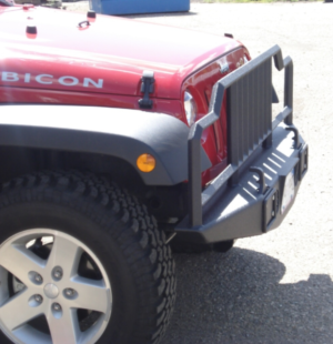 Custom Jeep Bumper side view