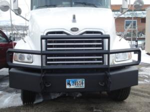Mack truck custom bumper