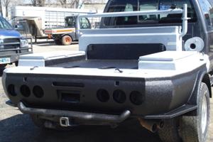 Custom Pump truck flatbed