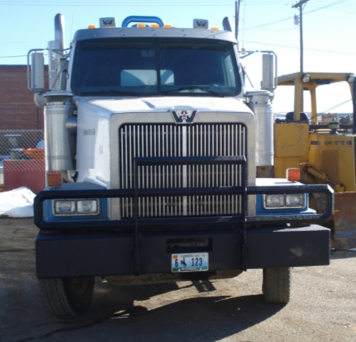 Big Rig W custom bumper