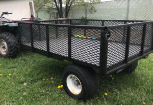 Custom welded cart