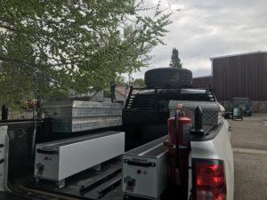custom work truck bed liner