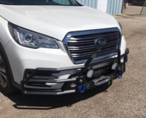 wrap bumper on new Subaru ascent